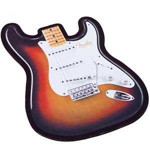Fender Strat Body Guitar Mouse Pad [9190560116]