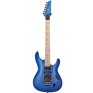 Ibanez S570MQM Bright Blue Burst [S570DXQMBBB]