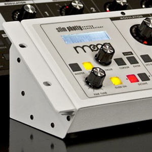 Moog Slim Phatty Metal Rack Ears White