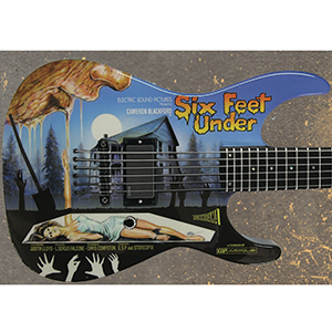ESP LTD Special Edition 2012 Art Series - Six Feet Under [LMSIXFEETUNDER]