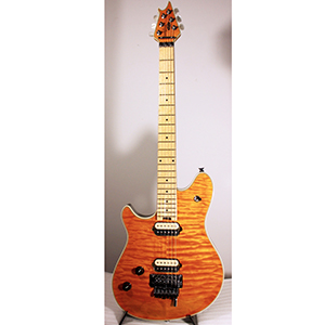 EVH Wolfgang Transparent Amber Quilted Maple Top Blemished [5107910801]