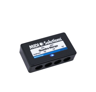 MIDI Solutions Quadra Merge MultiVoltage