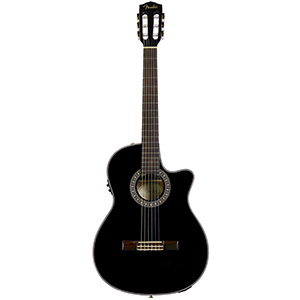 Fender CN-240SCE Thinline Classical Black [0972406006]