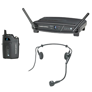 Audio Technica ATW-1101/H Digital Wireless Head-Set Wireless System [ATW1101H]
