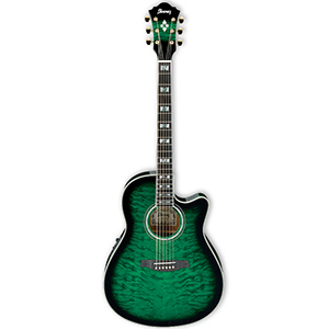 AEF37ETES Transparent Emerald Sunburst