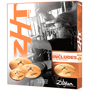 Zildjian ZHT Rock Promo Box Set  [ ZHTR4P-9]