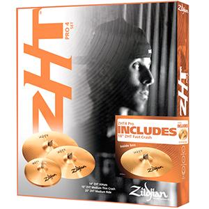 Zildjian ZHT Pro Promo Box Set [ZHTP4P-9]