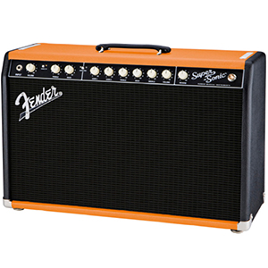 Fender FSR Super Sonic 22 TT Black and Orange [2160000162]