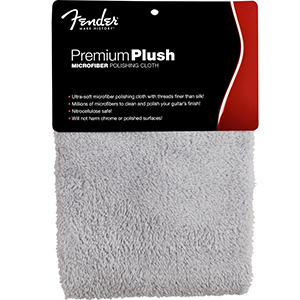 Fender Premium Plush Microfiber Polishing Cloth [0990525000]