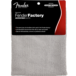Fender Dual-Sided Super-Soft Microfiber Cloth [0990523000]