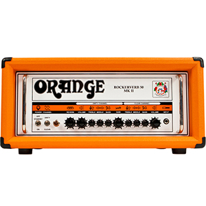 Orange Rockerverb 50 MKII Head [RK50HTCMKII]