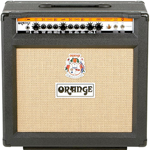 Orange Rockerverb 50 MKII 1x12 Combo Black [RK50TCMKII BLACK]