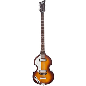 Hofner Violin Bass - Ignition Left-Handed Sunburst [HI-BB-L-SB-O]