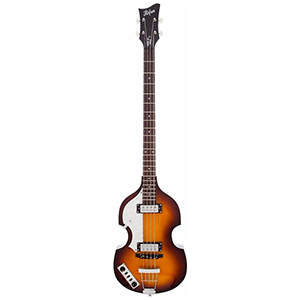 Hofner Violin Bass - Ignition Left-Handed Sunburst