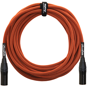 20 Ft Mic Cable Orange
