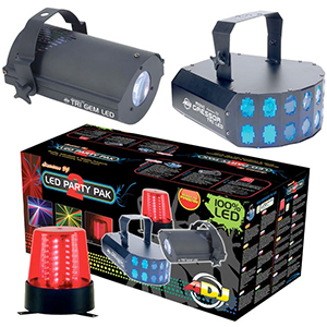 American DJ LED Party Pak 2 [LED744]