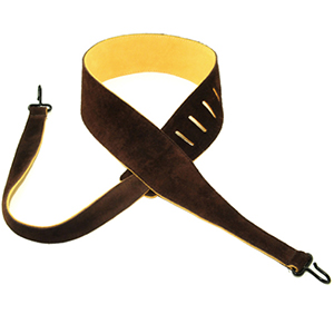 Henry Heller Capri Leather Banjo Strap Chocolate [HSBJ-CHC]