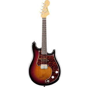 Mando-Strat 3-Color Sunburst
