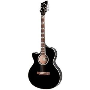ESP X-Tone AC-10E - Black Left-Handed [XAC10EBLKLH]