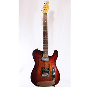 Select Carved Blackwood Top Telecaster SH Black Cherry Burst