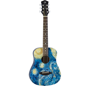 Luna Guitars Safari Starry Night [SAF STR]
