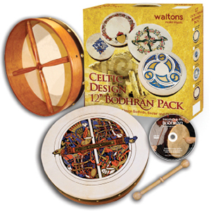 Waltons 12-inch Skellig Bodhran Pack  [WMP1937]