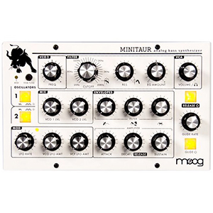 Moog Minitaur - Custom White Finish [TBP-002]