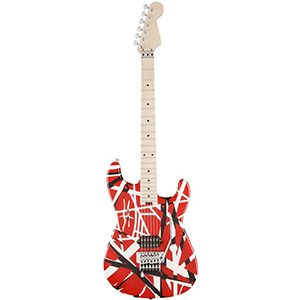 EVH Striped Red with Black Stripes [5107902503]