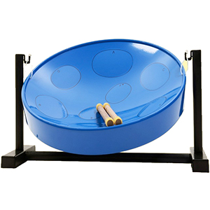 Jumbie Jam Steel Drum Table Top Kit - Blue