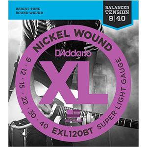 Daddario EXL120BT 09-40
