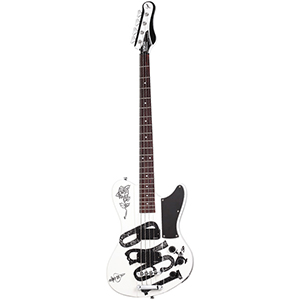 Schecter Simon Gallup Ultra Bass White / Black [2263]