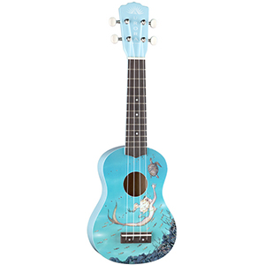 Luna Guitars Aurora Childrens Ukulele - Mermaid [AR UKE MERMAID]