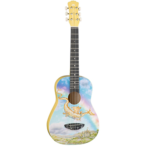 Luna Guitars Aurora Childrens Nylon Dragon [AR NYL DRAGON]