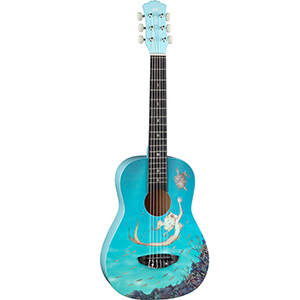 Luna Guitars AR2 Aurora Childrens Nylon Mermaid