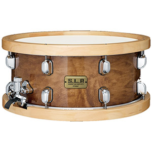 Tama SLP Snare Maple Sienna
