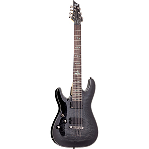 Schecter Damien Elite 7 Black Left-Handed [1129]