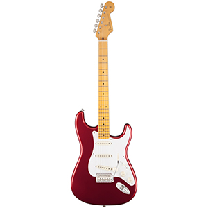 Fender Classic Series 50s Stratocaster Lacquer Candy Apple Red [0140061709]