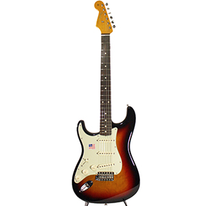 American Vintage 62 Left-Handed Stratocaster 3-Tone Sunburst Blemished