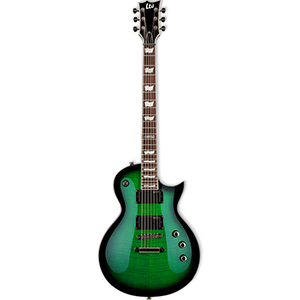 LTD EC-330FM See Thru Green Sunburst