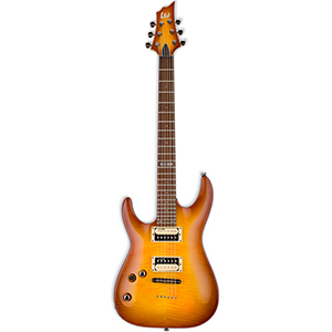LTD H-101FM Amber Sunburst Left-Handed