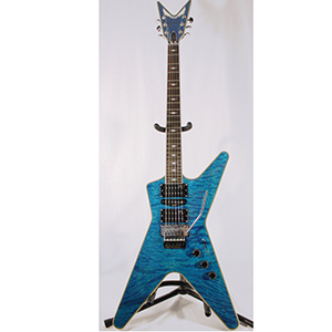 Dean Custom Run 8 ML Switchblade Transparent Blue [DCR MLB F HSH TBL No72]