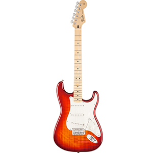 Fender Standard Stratocaster Plus Top - Aged Cherry Burst [0144612531]