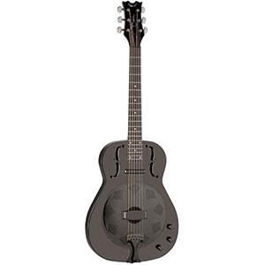 Dean Resonator Thin Body Electric Black Chrome [RESEBC]