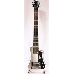 Shorty Guitar - Silver Sparkle