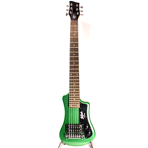 Hofner Shorty Guitar - Cadillac Green