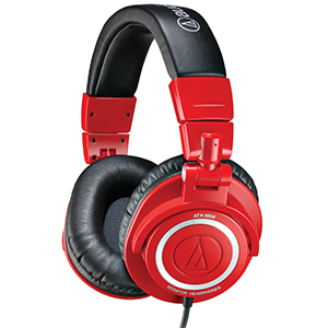 Audio Technica ATH-M50RD Red - Limited Edition [ATHM50RD]
