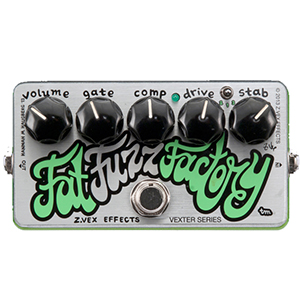ZVEX Effects Fat Fuzz Factory Vexter