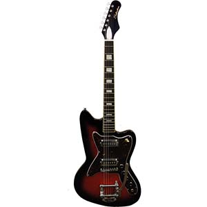 Silvertone 1478 Red Sunburst