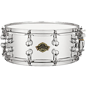 Ddrums Artisan Series Chrome Wood Snare