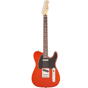 Fender Standard Telecaster Satin Flame Orange [0140142576]